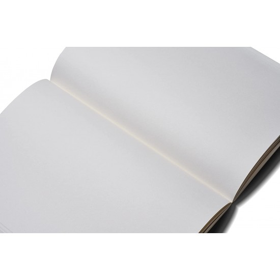 ZEQUENZ The Color Notebook Storm A5 Size Blank-Plain 200 Pages Soft Cover 14.8x21cm, 80gsm Cream Coloured Paper 360 Degree Openable Flexible Roll Up Journal for Writing Sketching Fountain Pen Friendly