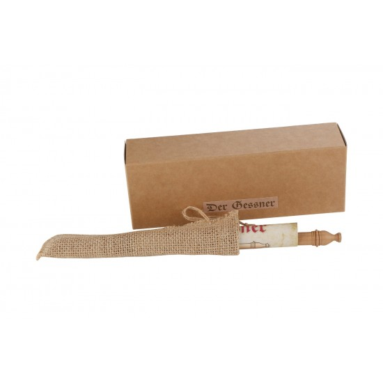 Cleo Skribent - Der Gessner Native Wood Pencil for Sketching In A Jute Pouch